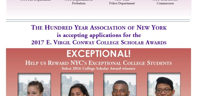 100Year_2017_Service Award_College Scholarship Poster